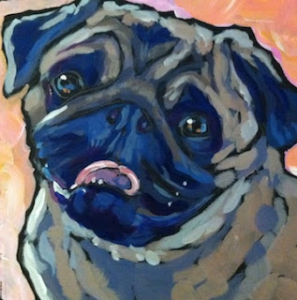 Bug the Pug by Kat Corrigan