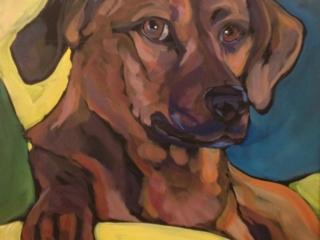 20x20 acrylic on canvas