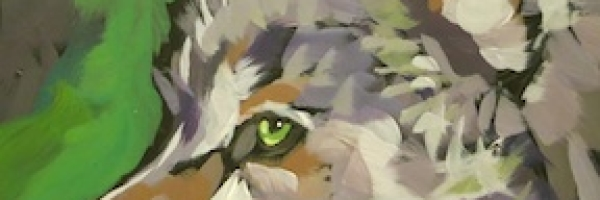 Alert Green Eyes