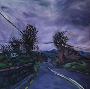 Trees on the Road, Dingle Peninsula